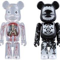 Halloween 2008 Dr.ROMANELLI & BUTCHER BLOCK 2pc ベアブリック(BE@RBRICK)[受注終了]
