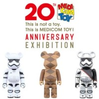 MEDICOM TOY 20th ANNIVERSARY EXHIBITION 開催記念 ベアブリック (BE@RBRICK) & GOODS [発売]