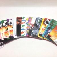 ベアブリック(BE@RBRICK)のシリーズカード補正方法