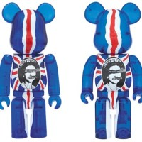 SEX PISTOLS Ver.2 God Save The Queen Clear 100 % 400% ベアブリック (BE@RBRICK) [情報]