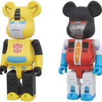 TRANSFORMERS BUMBLEBEE & STARSCREAM 200% ベアブリック (BE@RBRICK) [一般発売]
