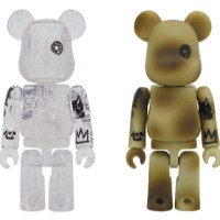 UNKLE CLEAR & CAMOUFLAGE 100% ベアブリック(BE@RBRICK)[情報]