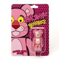 USJ限定 ピンクパンサー(Pink Panther) 100% ベアブリック(BE@RBRICK)[ネット発売]