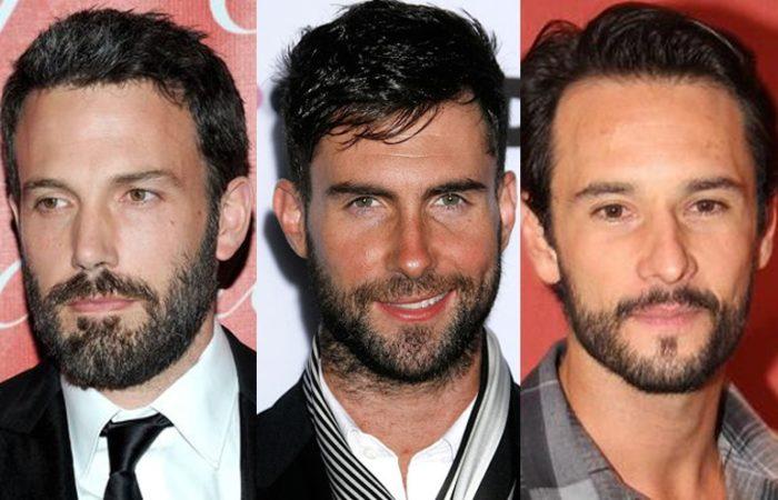 O Rosto retangular é outra grande tendências para barba 2018
