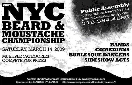 2009 NYC Beard and Moustache Championship