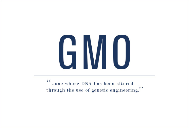 Genetically Modified Organisms (GMOs) 101