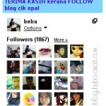 I follow you, you follow me concept..salah ke?