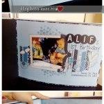 Alif's First Birthday Photobook dah sampai!
