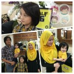 Azri is 1 // Alif is 6 – Bumblebee Birthday Party