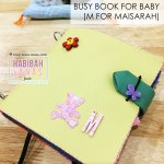 Quiet Book for Baby Maisarah