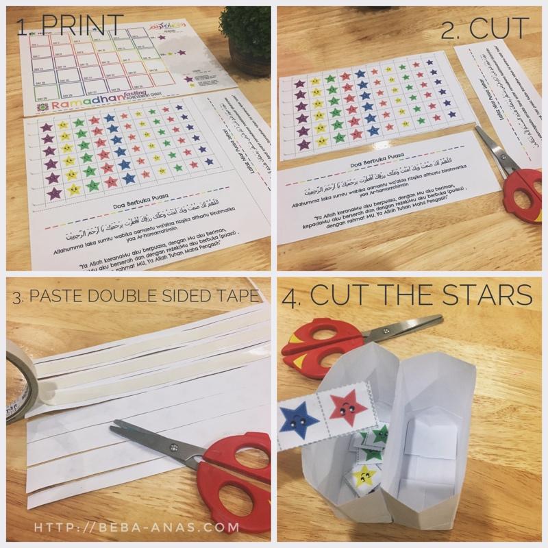 free print reward chart puasa