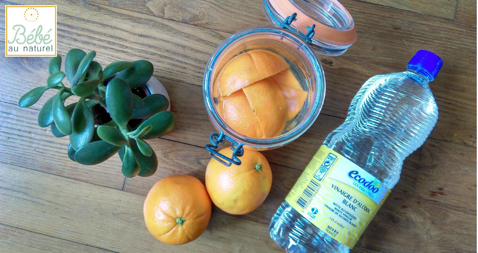 Recette DIY pour toute la maison : le vinaigre aux agrumes