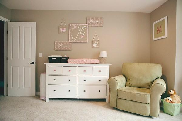 distribuir los muebles en la habitacion del bebe 2