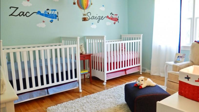 Cómo decorar habitaciones para gemelos