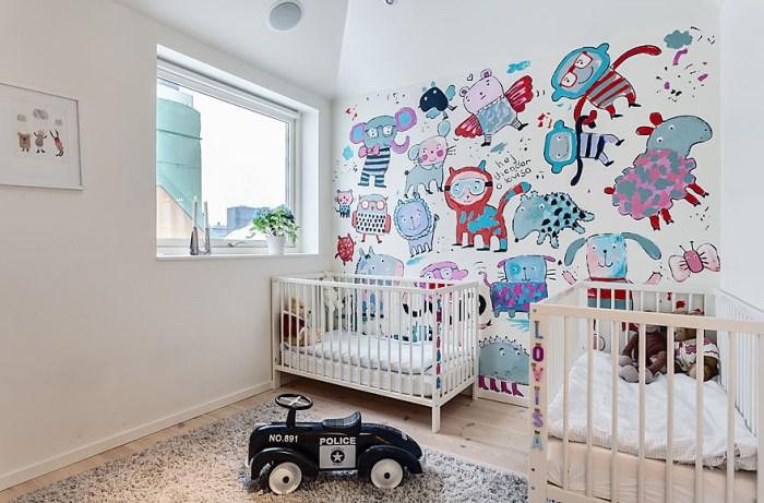 como decorar habitaciones para gemelos 8