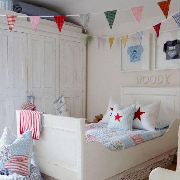 banderines y guirnaldas en decoración infantil 3