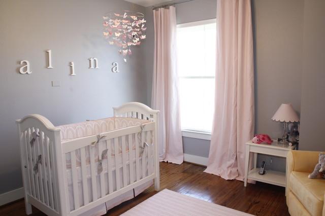 Habitacion de bebe en rosa y gris 4 blog bebe y decoraci n for Decoracion habitacion nina gris y rosa