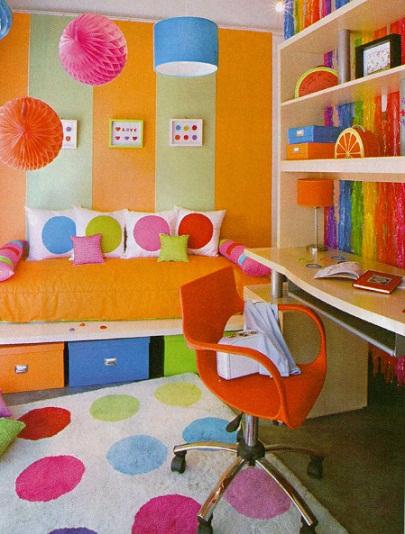 Colorterapia en decoracion infantil