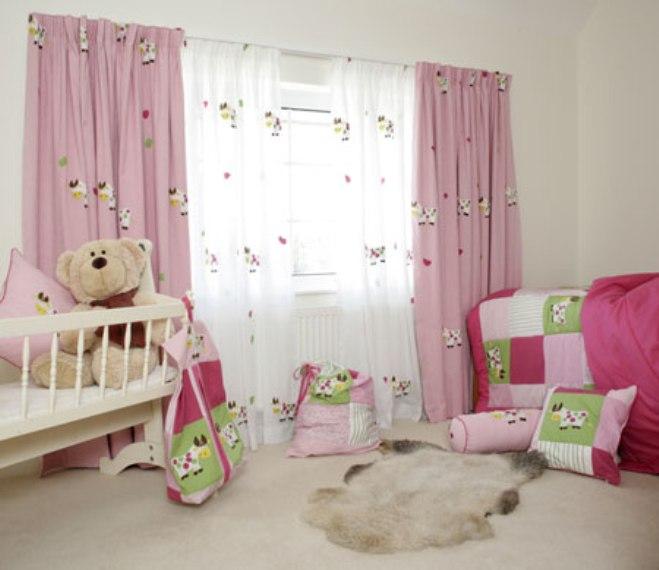 Cortinas Para Habitaciones Infantiles Blogbebeydecoracioncom - Cortinas-cuarto-bebe