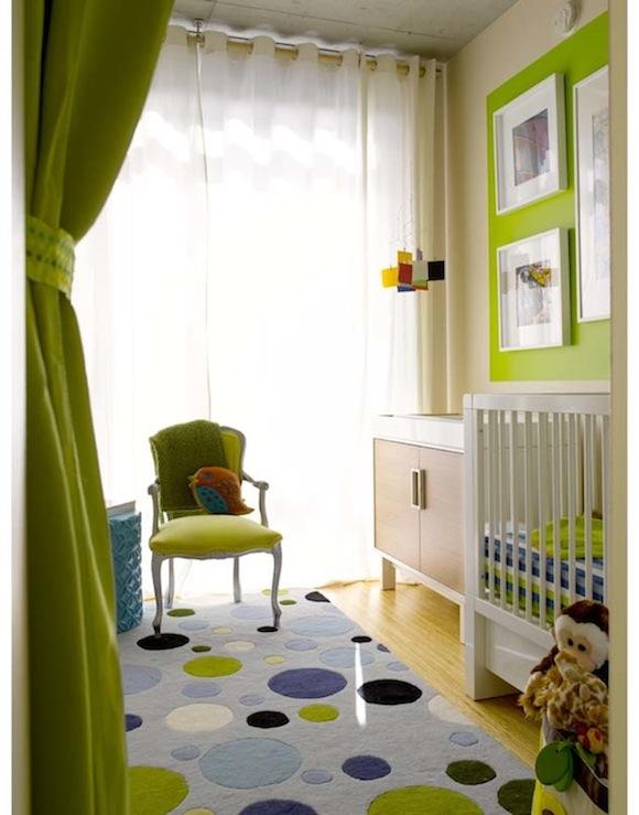 decoracion infantil en color verde 1