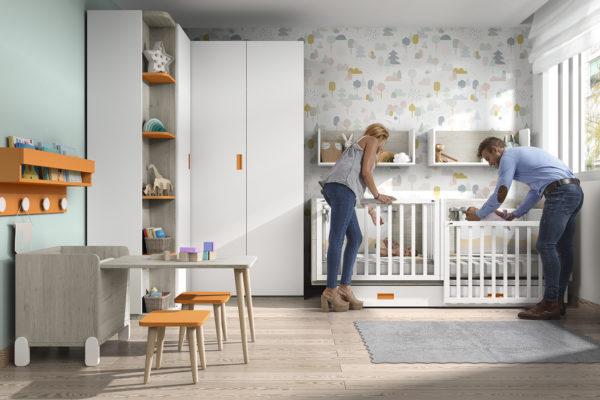 Cómo decorar habitaciones para gemelos 4