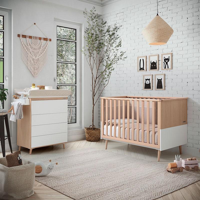 Comoda bañera Nature Micuna en nuestra lista del mejor mobiliario moderno para niñps