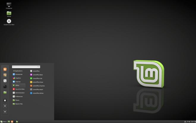 LinuxMint Desktop