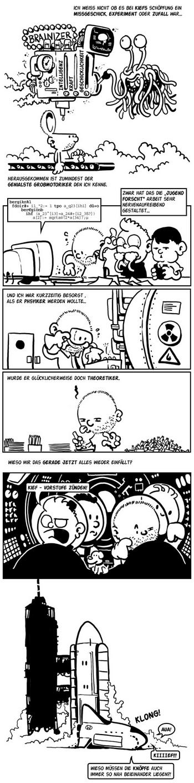 Sehr cooles Comic von Beetlebum