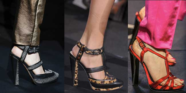DIANE VON FURSTENBERG |MBFW New York | FW 2013 | Shoes