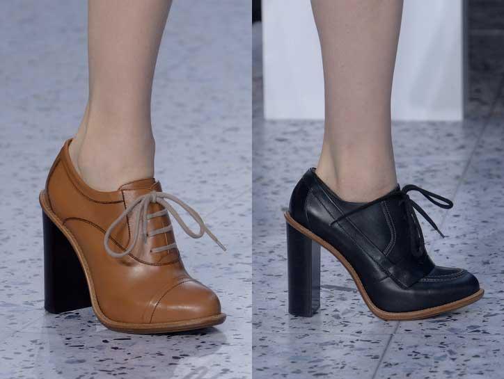 Chloe | Paris Fashion Week | Fall-Winter 2013-2014 | Shoes. Calzado