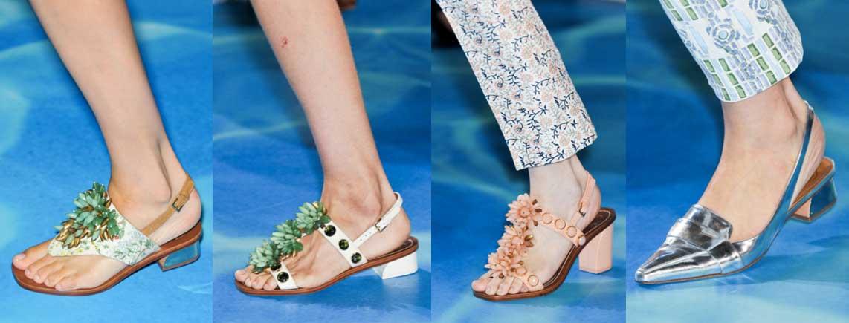 Tory Burch   MB Fashion Week New York. Mercedes Benz Semana de la Moda de New York   Spring-Summer 2014. Primavera-Verano 2014   Calzado Shoes