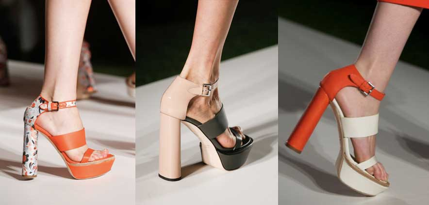 Mulberry | London Fashion Week / Semana de la Moda de Londres | Spring-Summer 2014 | Primavera-Verano 2014 | Shoes / Calzado