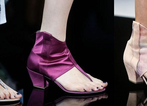Giorgio Armani | Milan Fashion Week / Semana de la Moda de Milán | Spring-Summer 2014 | Primavera-Verano 2014 | Shoes / Calzado