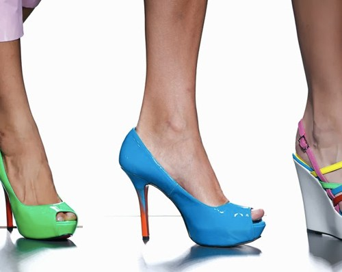 Ágatha Ruiz-de la Prada | Madrid Fashion Week / Mercedes Benz Fashion Week Madrid | Spring-Summer 2014 | Primavera-Verano 2014 | Shoes / Calzado