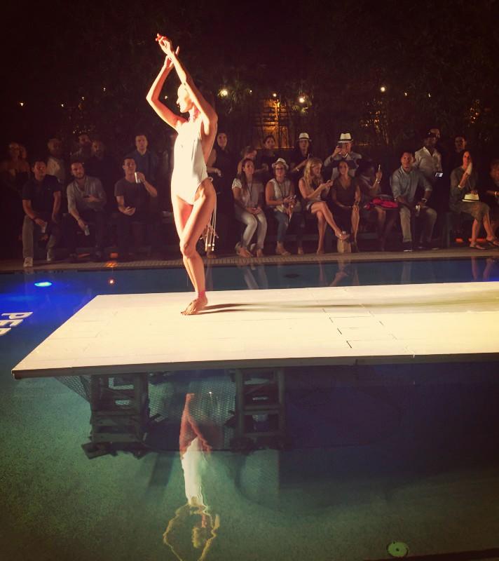 Bianca Coletti. Swim Suit Show. Miami 2017
