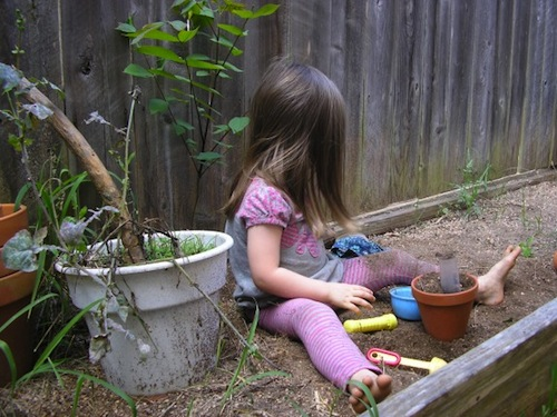 get kids outdoors