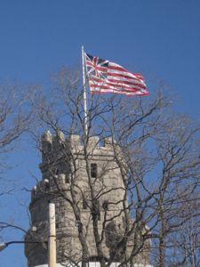 Grand Union flag, Prospect Hill