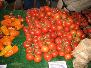 Fresh tomatoes in April? Yes, when they're transported from Italy - a shorter distance than from California to Boston.