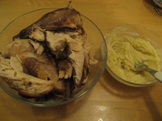 Chicken, Paste