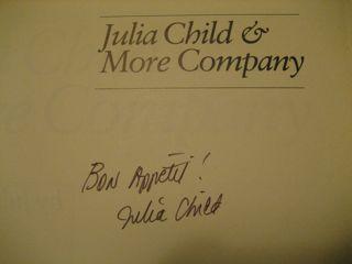 St. Julia's autograph