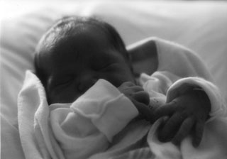 Miles, 1 day old