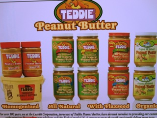 One of the ferstival sponsors was Teddie Peanut Butter, made in Revere. Bread from Iggys in Cambridge, peanut butter from Revere, and Fluff from Lynn: a perfect locavore creation.