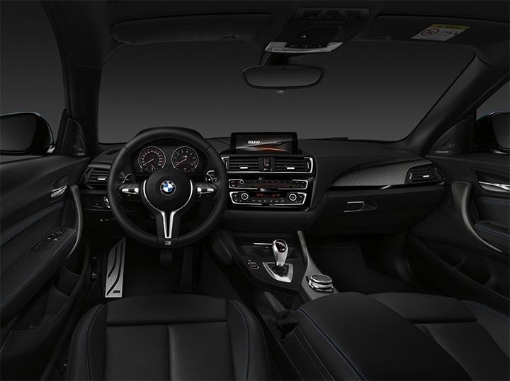 O interior do BMW M2 traz todos os itens comuns aos carros da série M. Bem Auto Oficina Mecânica no Kobrasol, São José, Florianópolis, Palhoça, Biguaçu, Santa Catarina