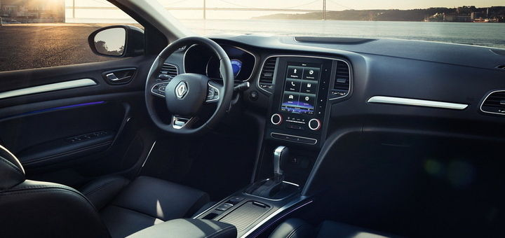 O novo Renault Mégane Sedan, substituto do Fluence tem uma central multimídia com tela de 8,7 polegadas - Bem Auto Oficina Mecânica no Kobrasol, São José, Florianópolis, Biguaçu, Palhoça