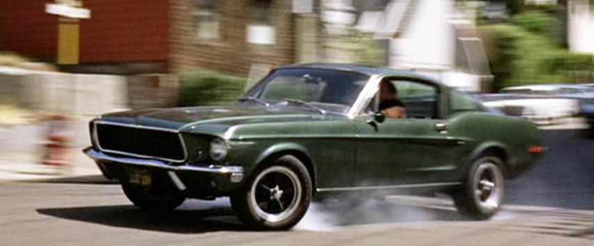 Mustang GT 390, carro do filme Bullit com Steve Mcqueen - Bem Auto Oficina mecânica especializada no Kobrasol, São José, Florianópolis, Biguaçu, Palhoça - Carros que marcaram a história do cinema