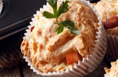 Muffin de frango e legumes
