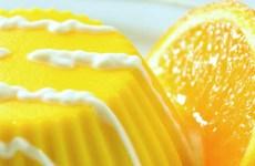 flan de laranja e baunilha
