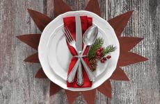 Como decorar a mesa para a ceia de natal