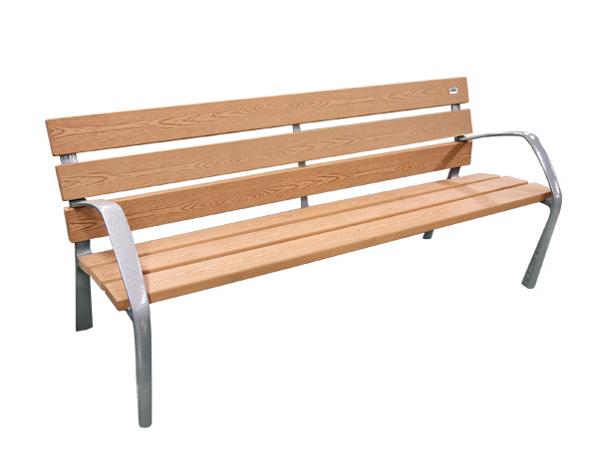 Banco Neobarcino madera técnica - Mobiliario urbano BENITO URBAN