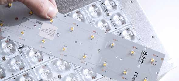 Nuevo módulo LEDs B-flex diseñado y desarrollado por BENITO URBAN